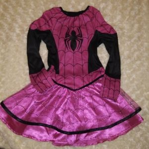 Spidergirl dress size 2-3T